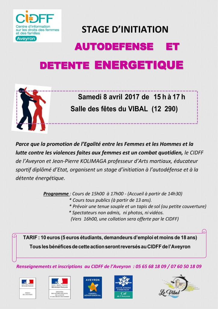SELF DEFENSE 8 AVRIL 2017